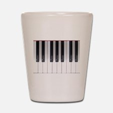 Keyboard 7 Shot Glass