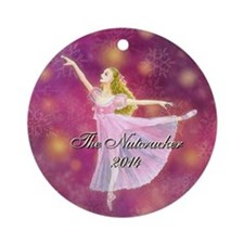 Nutcracker 2014 Ornament (round)