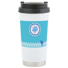 Lace work Travel Mug