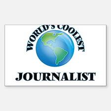 Journalist Decal