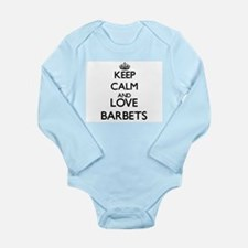 Keep calm and love Barbets Body Suit