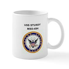 USS STURDY Mug