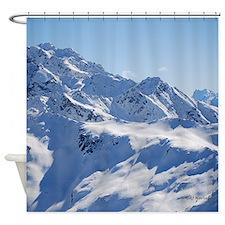 Snowy Peak Shower Curtain