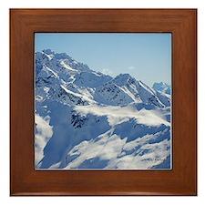 Snowy Peak Framed Tile
