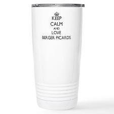 Keep calm and love Berg Thermos Mug