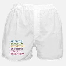 Interior Designer Boxer Shorts