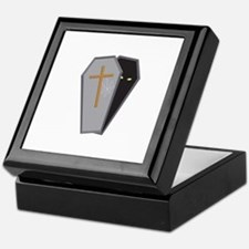 Halloween Coffin Keepsake Box