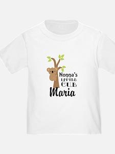 Personalized Nonna gift for Grandchild T-Shirt
