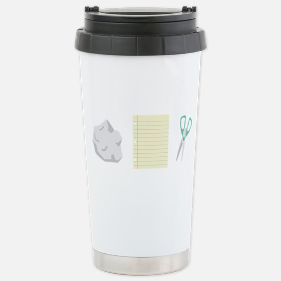 Rock Paper Scissors Travel Mug