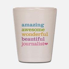 Awesome Journalist Shot Glass