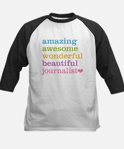 Awesome Journalist Baseball Jersey