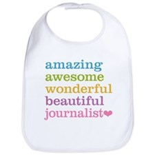 Awesome Journalist Bib