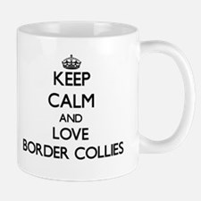 Keep calm and love Border Collies Mugs