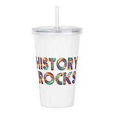 History Rocks Acrylic Double-wall Tumbler