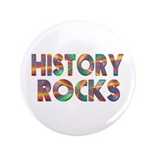 "History Rocks 3.5"" Button"