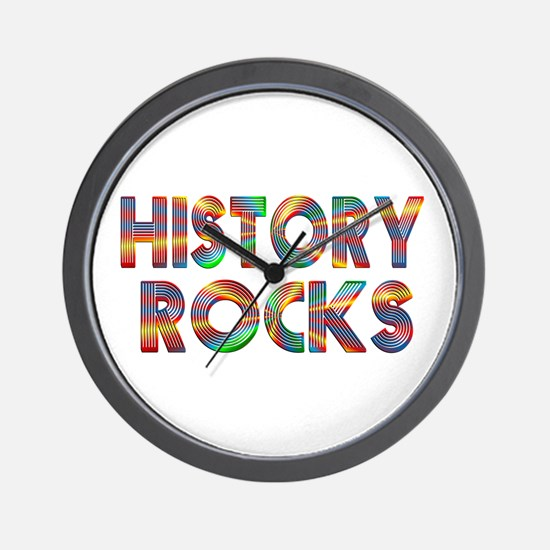 History Rocks Wall Clock