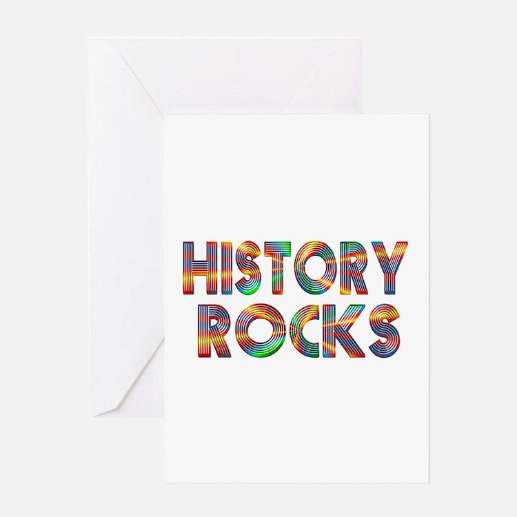 History Teacher Greeting Cards