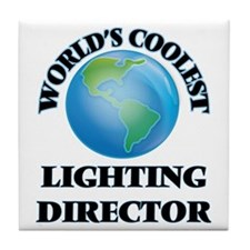 Lighting Director Tile Coaster