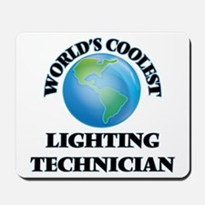 Lighting Technician Mousepad