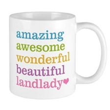 Awesome Landlady Small Mug