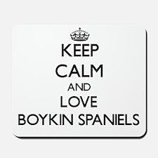 Keep calm and love Boykin Spaniels Mousepad