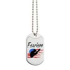 FEARLESS DIVER Dog Tags