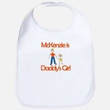Mckenzie is Daddy's Girl Bib