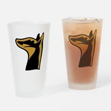 German Pinscher Drinking Glass
