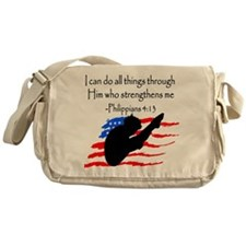 DIVER PRAYER Messenger Bag