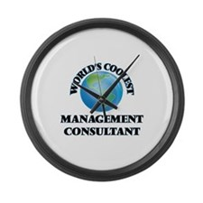 Management Consultant Large Wall Clock