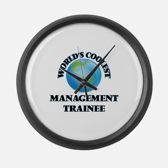 Management Trainee Large Wall Clock