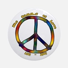 Summer of Love 1967 Ornament (Round)