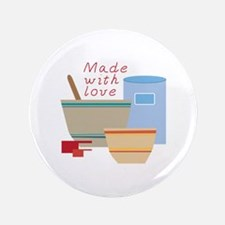"""Made With Love 3.5"""" Button"""