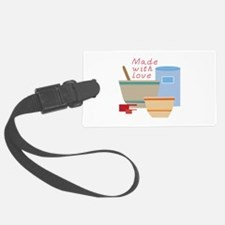 Made With Love Luggage Tag