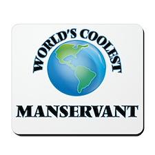 Manservant Mousepad