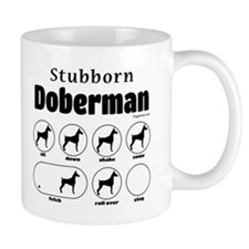 Stubborn Dobie v2 Mug