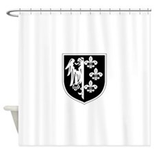 ision of the SS Charlemagne (1st Fr Shower Curtain
