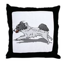 Norrbottenspets Throw Pillow