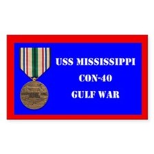 USS Mississippi Decal
