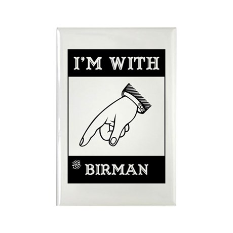 I'm With The Birman Rectangle Magnet (10 pack)
