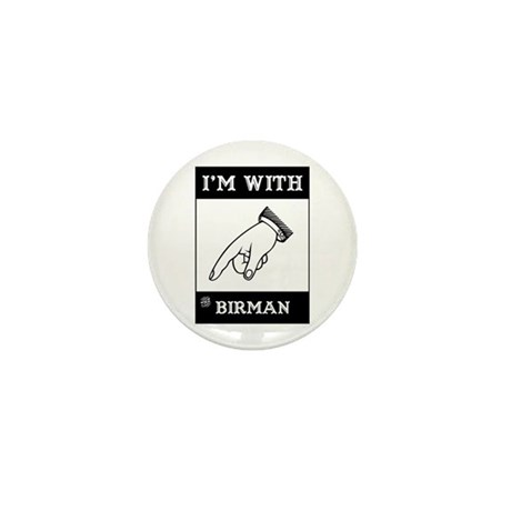 I'm With The Birman Mini Button (100 pack)