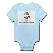 Keep calm and love Catahoula Leopard Dog Body Suit