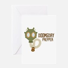 Doomsday Prepper Greeting Cards