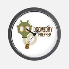 Doomsday Prepper Wall Clock