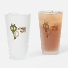 Doomsday Prepper Drinking Glass