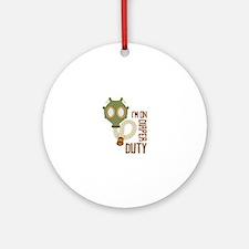 Diaper Duty Ornament (Round)
