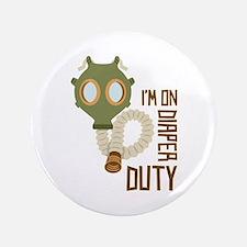 """Diaper Duty 3.5"""" Button"""