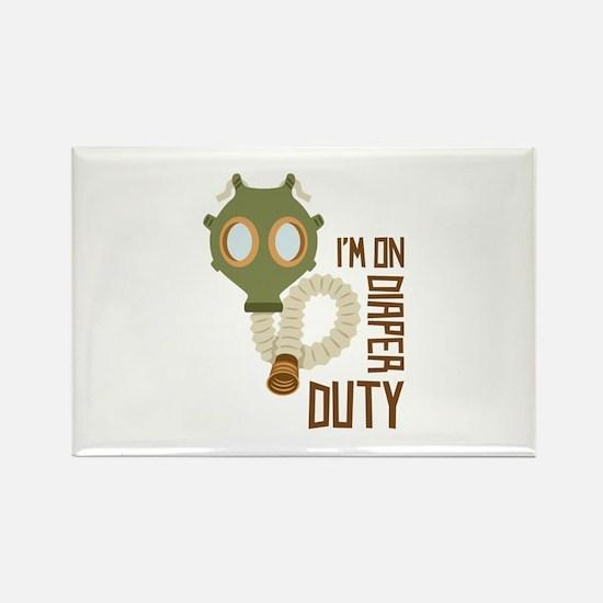Diaper Duty Magnets