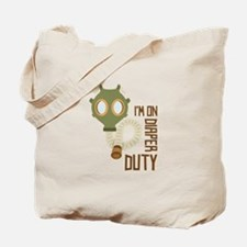 Diaper Duty Tote Bag