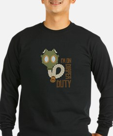 Diaper Duty Long Sleeve T-Shirt